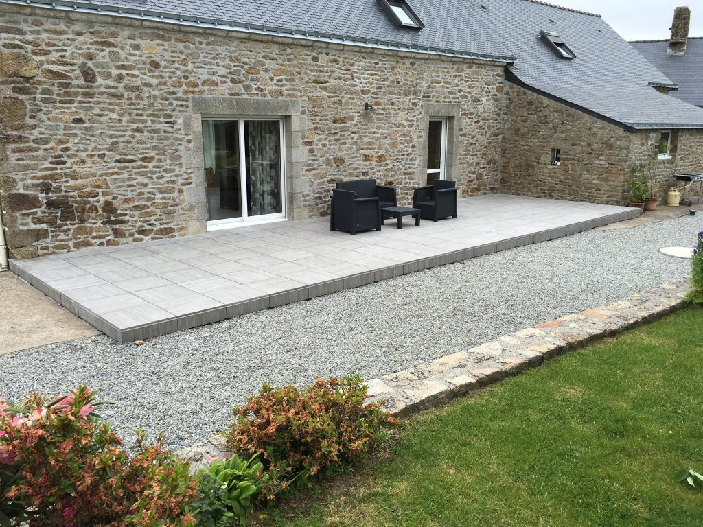 Realisation Terrasse A Baud 56 An Oriant Sols